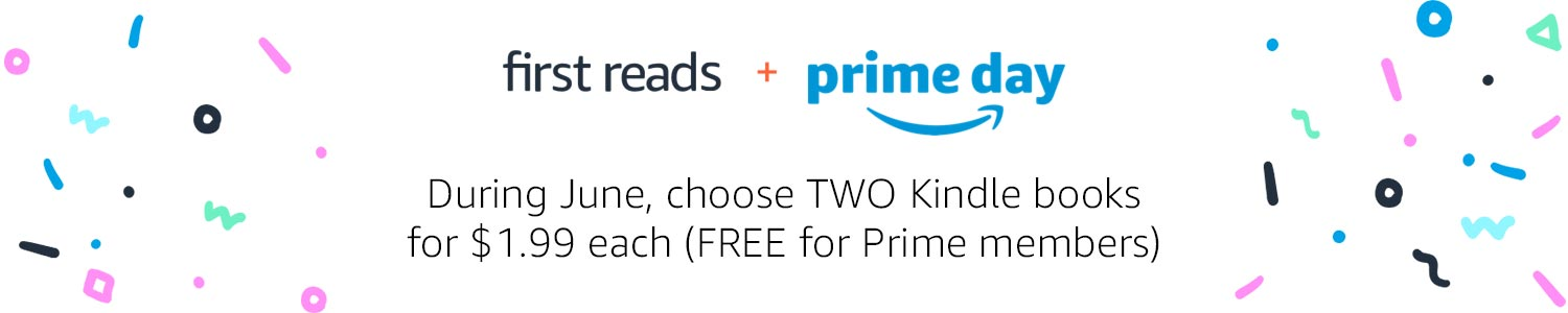 During June, choose two Kindle books for $1.99 each (FREE for Prime members)