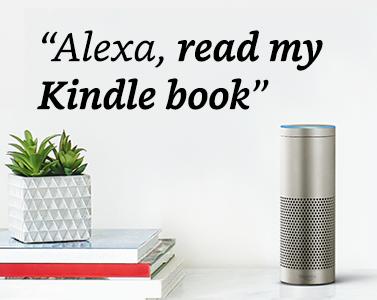 """""""Alexa, read my Kindle book"""""""