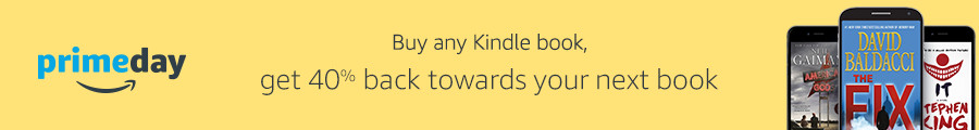 Buy any ebook, get 40% promo credit towards your next book