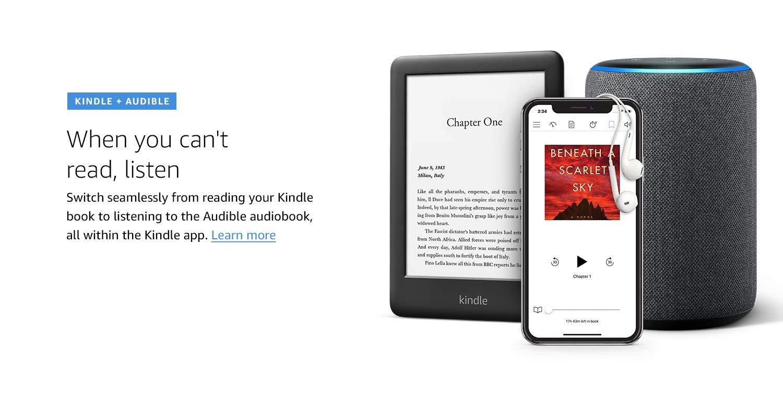 Kindle + Audible