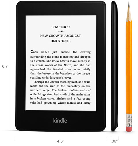 Amazon.com: Amazon Kindle Paperwhite , 6-Inch, Wi-Fi, With Special Offers [Previous Generation ...