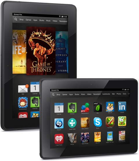 The New Kindle Fire HDX Models Are Now Available For Pre-Order, Start Shipping 10/18