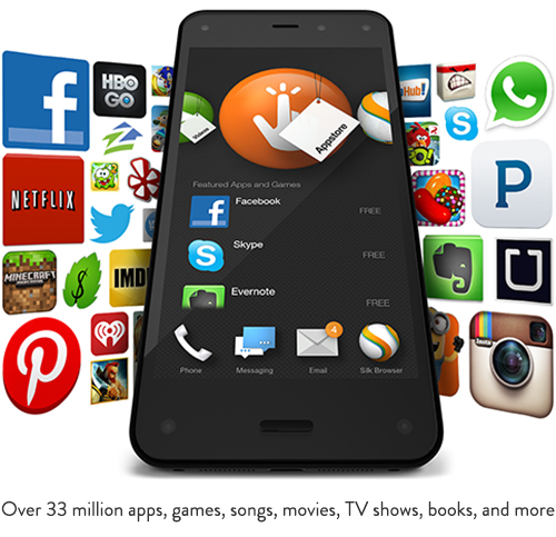 <b>At Last, The Amazon Fire Phone Is Here - And It's Awesome!</b>