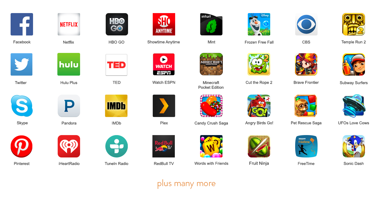 free game apps for tablets