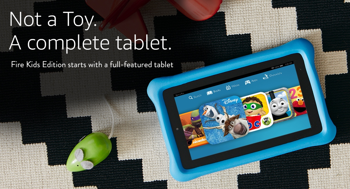 Not a Toy. A complete tablet.