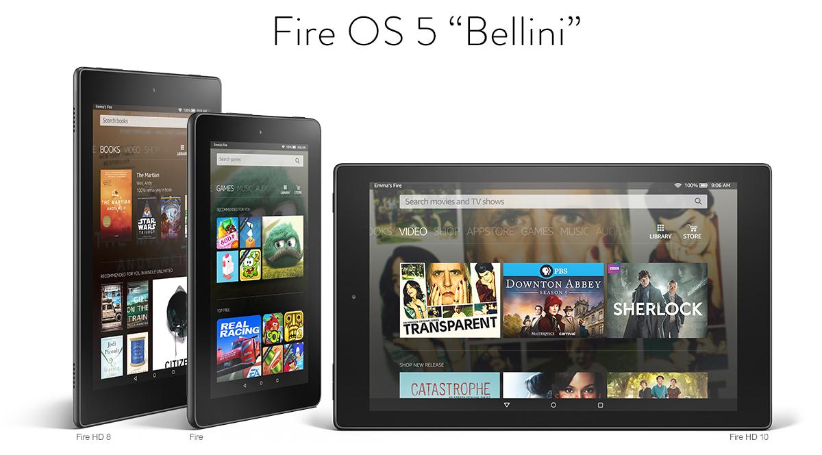 Fire OS 5 Bellini