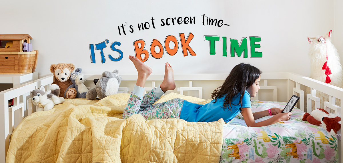 It's not screen time - it's book time