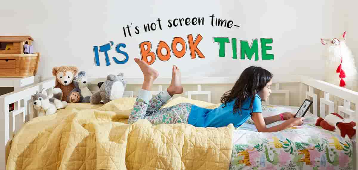 It's not screen time--it's book time