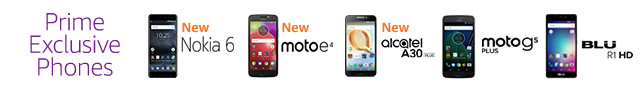 Introducing Prime Exclusive Phones