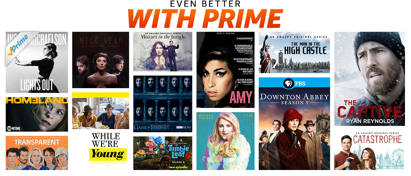 Being A Prime Member Unlocks Thousands Of Movies And Tv Episodes, Including  Amazon Original Series, Plus Adfree Listening To Over Two Million Songs  With