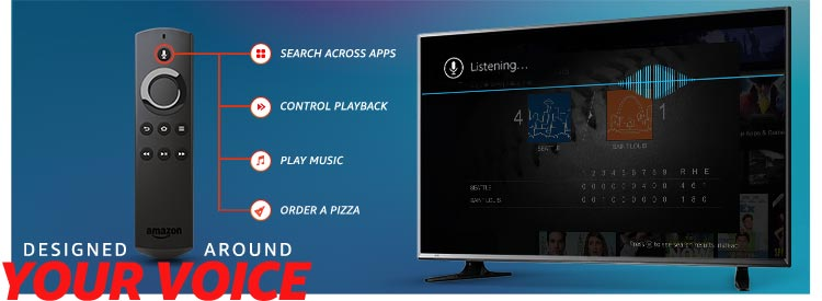 Pack3 - Fire TV Stick with Alexa Voice Remote | Streaming Media Player