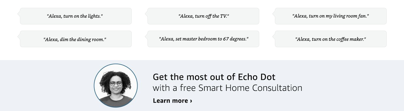 Get the most out of your echo with a free smart home consultation