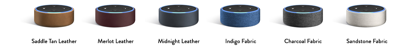 all new amazon echo dot add alexa to any room. Black Bedroom Furniture Sets. Home Design Ideas