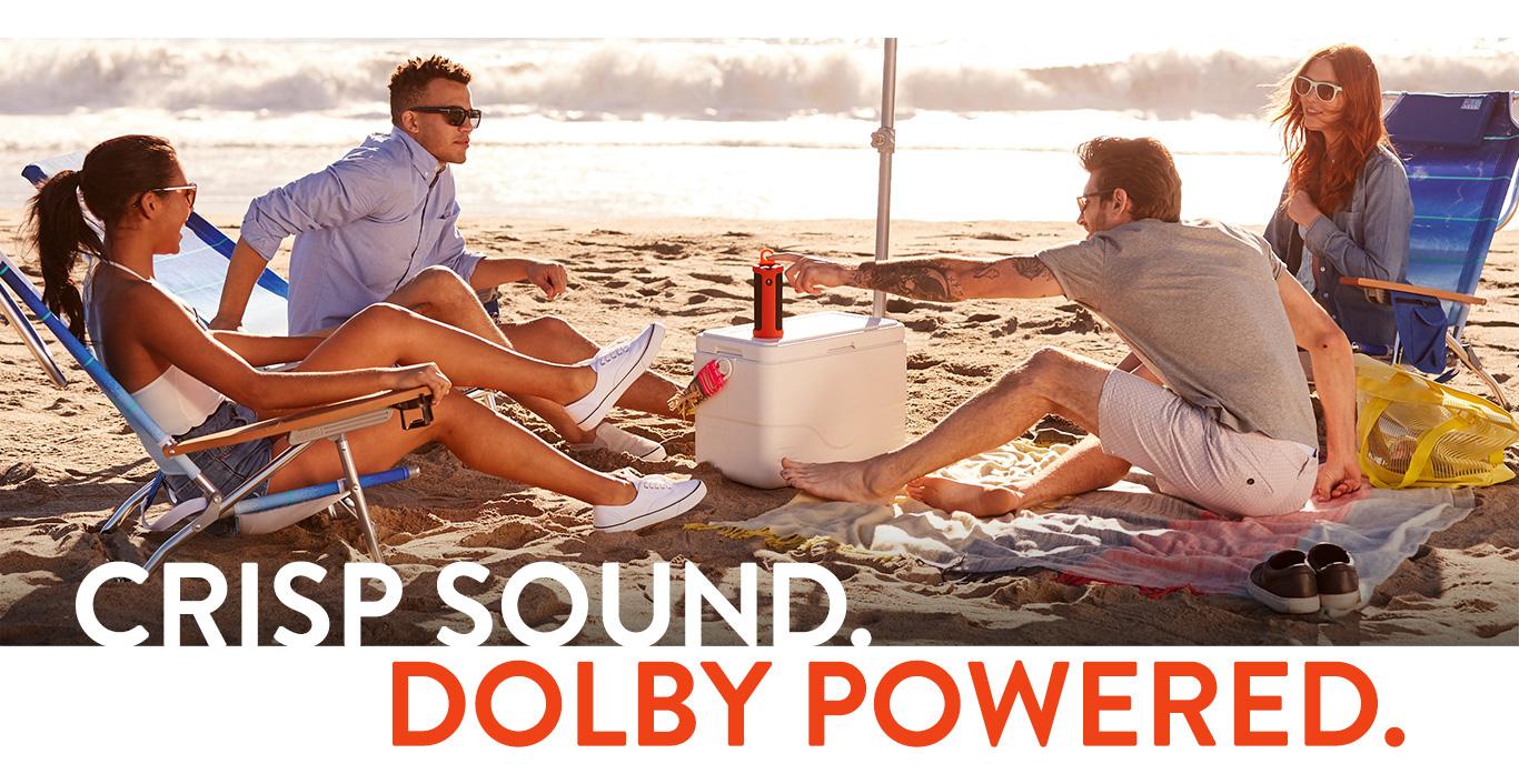 Crisp Dolby sound