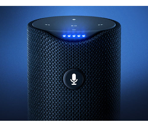 feature-smallstrongsmart-mobile Amazon Tap - Alexa-Enabled Portable Bluetooth Speaker