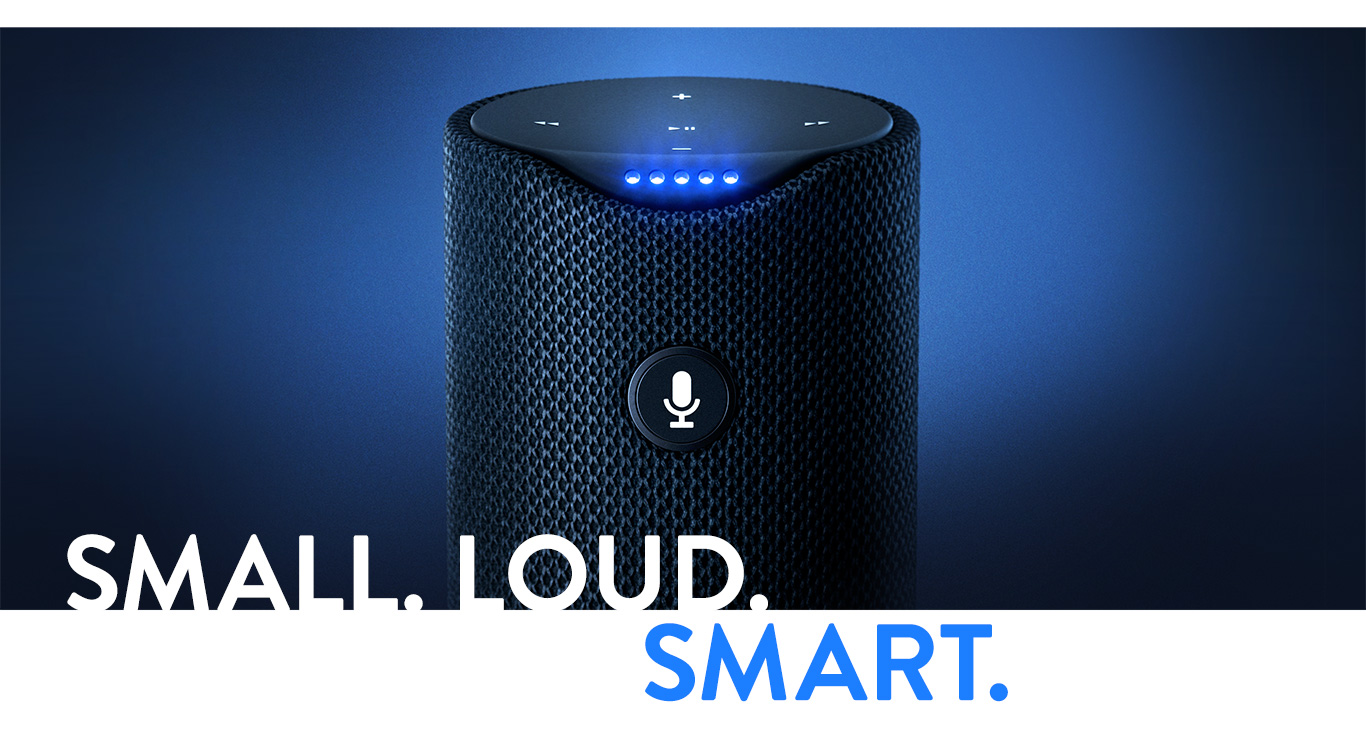 Small. Loud and Smart