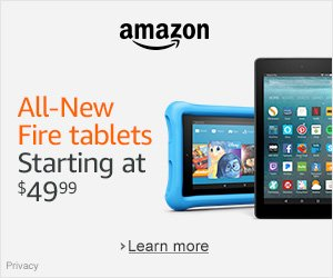 Amazon Devices - All-New Fire Tablets Starting at $49.99