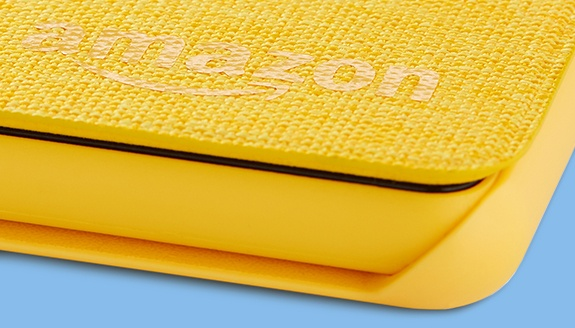 Canary Yellow 7th Generation, 2017 Release Fire HD 8 Tablet Case