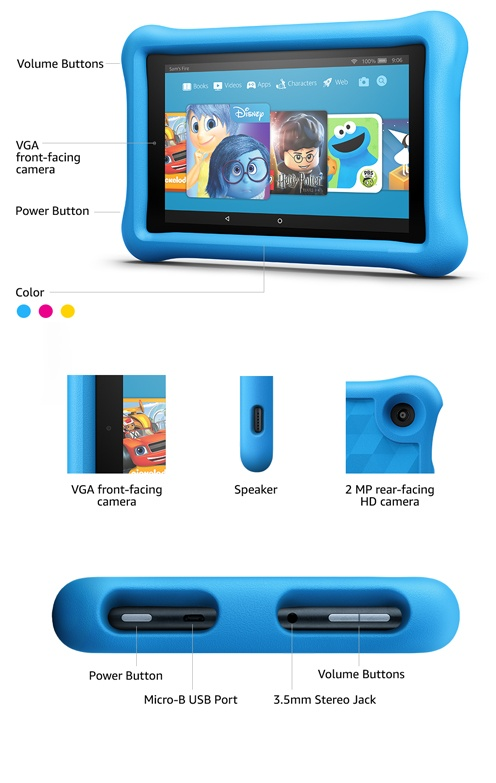 Amazon Fire Tablet Kids edition (HD 10