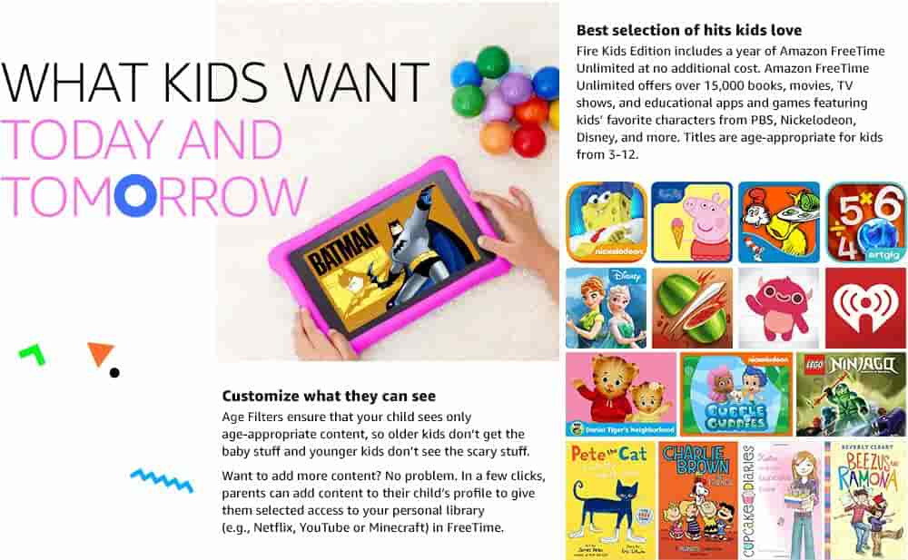 What kids want today and tomorrow