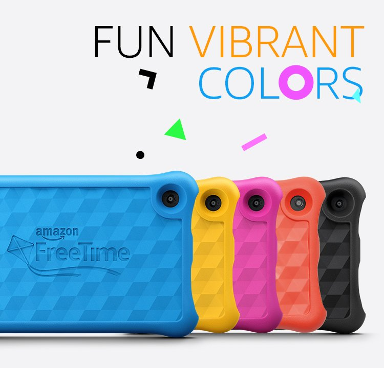 Fun, vibrant colors
