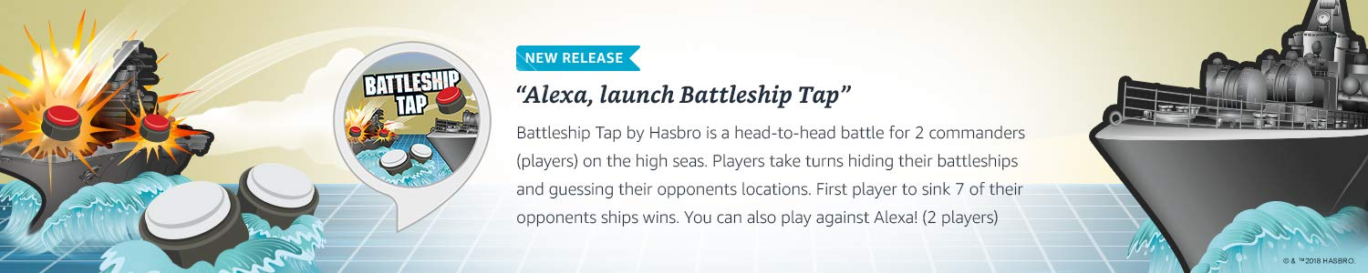 Echo Button skills, Battleship Tap