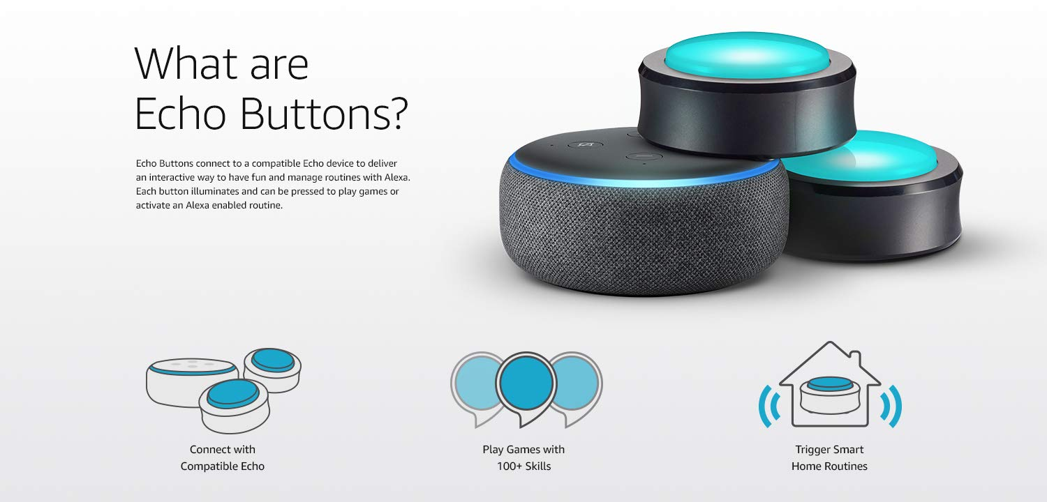 What are Echo Buttons?