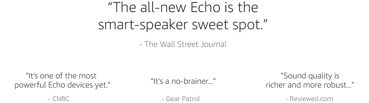 It's one of the most powerful Echo devices yet.