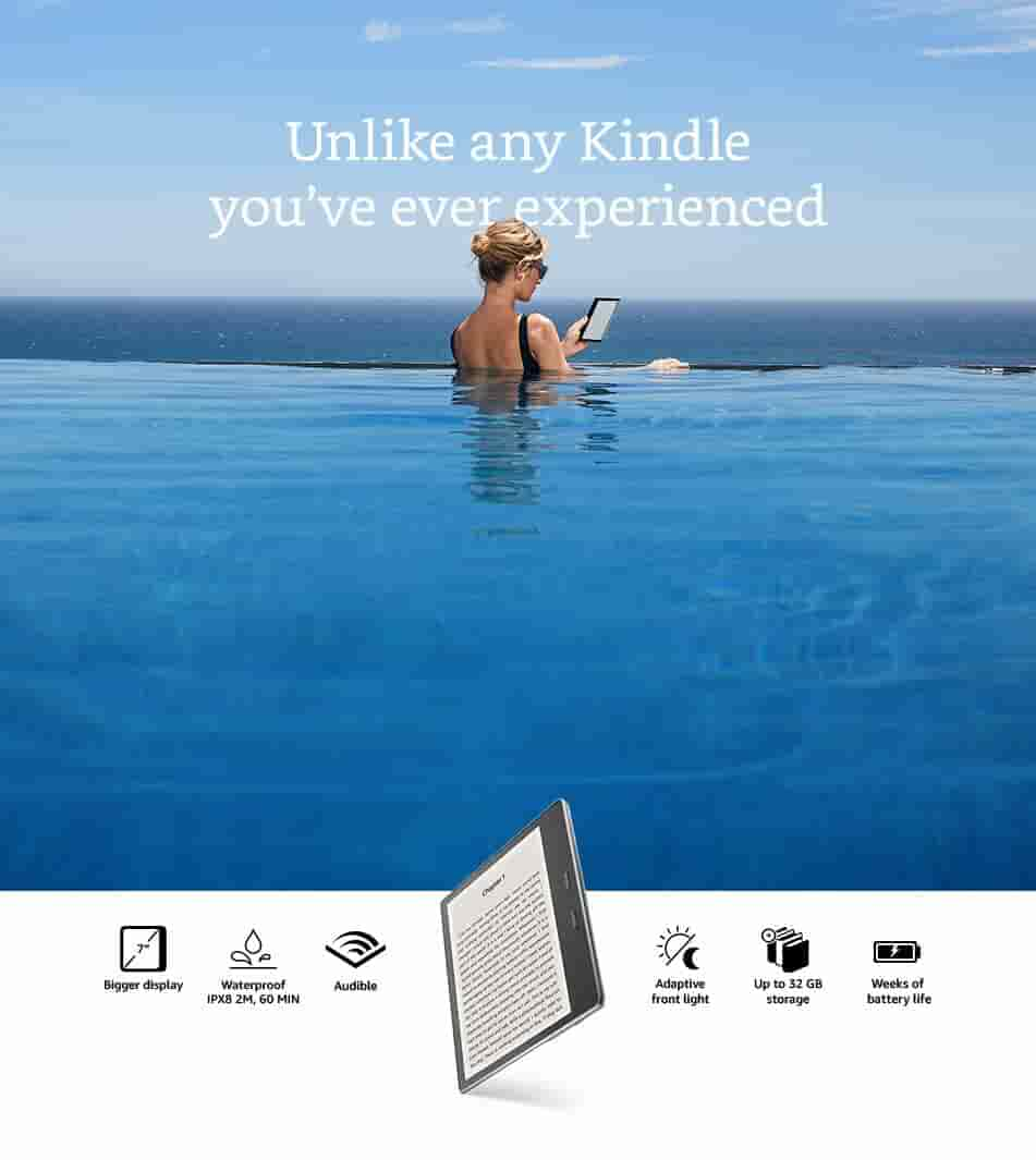 Unlike any Kindle you've ever experienced