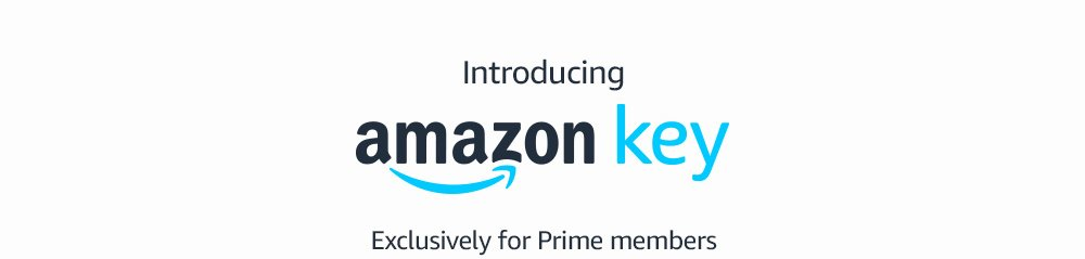 Introducing Amazon Key. Exclusively for Prime members