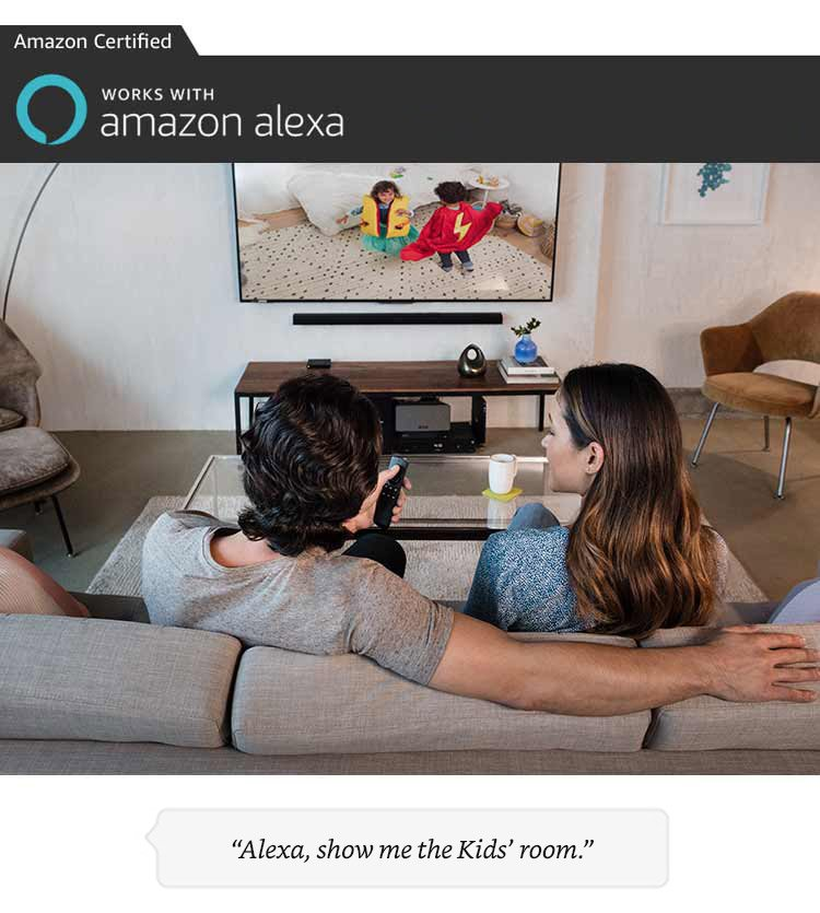 Alexa,show the kids room