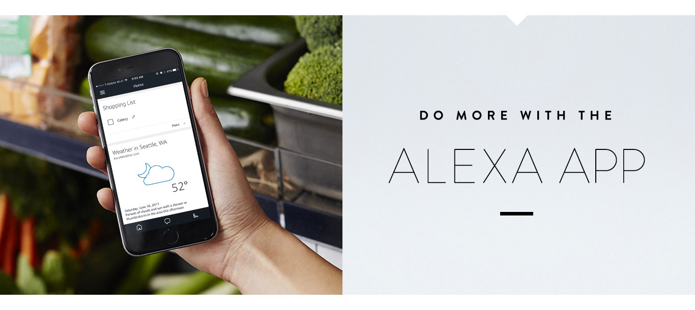 Do more with Alexa App