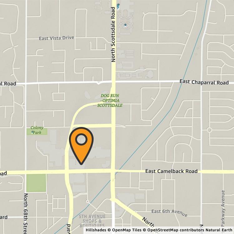 Amazon PopUp Scottsdale Fashion Square Amazoncom - Scottsdale fashion square map