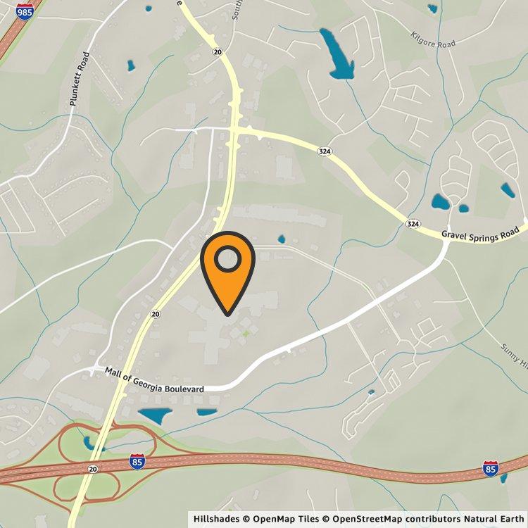 Map Of Georgia Mall.Amazon Pop Up Mall Of Georgia Amazon Com