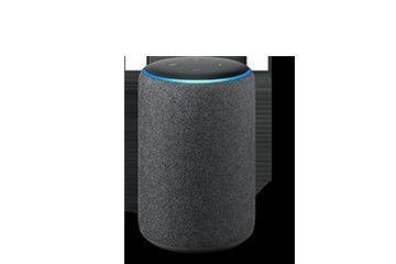 echo spot alexa enabled speaker with 2 5 screen black. Black Bedroom Furniture Sets. Home Design Ideas