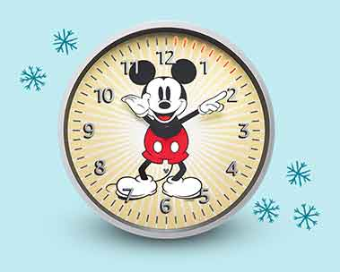 Image of Echo Wall Clock- Disney Mickey Mouse Edition