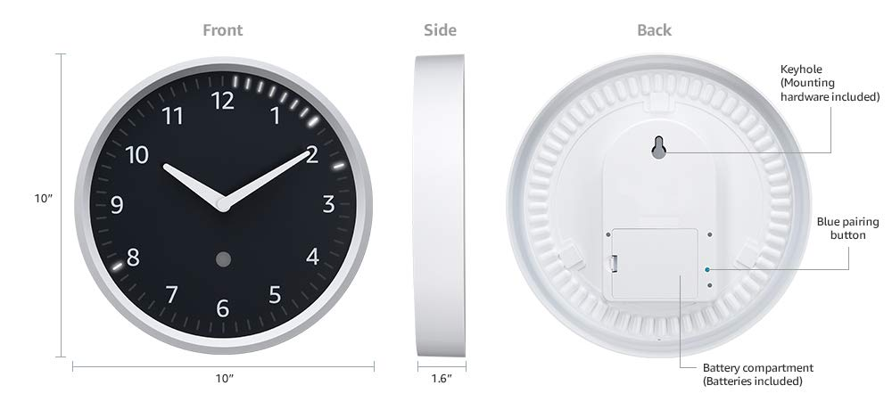 Image result for Citizen Smart Clock packs blue LEDs and Echo compatibility