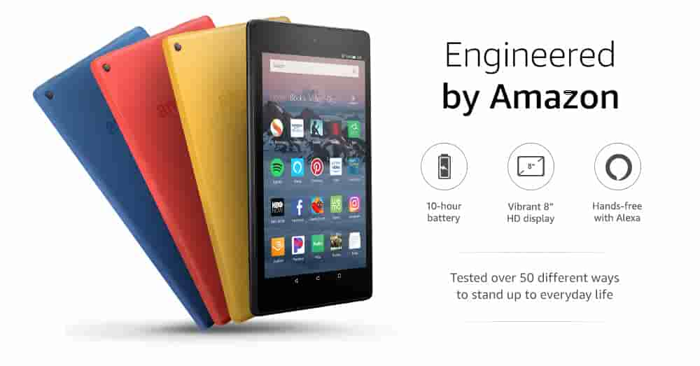 Amazon.com: All-New Fire HD 8 Tablet. Up To 10 Hours Of