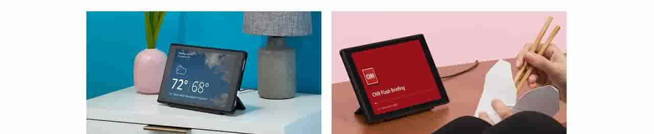 Transform your tablet so Alexa can show you things