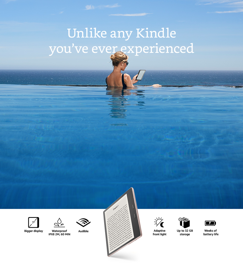 Certified Refurbished Kindle Oasis - Amazon Official Site ...