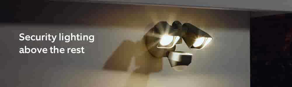 Security lighting above the rest