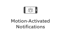 Motion-activated notifications