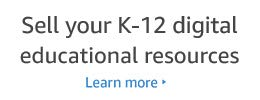 Sell your K-12 digital educational resources. Learn more