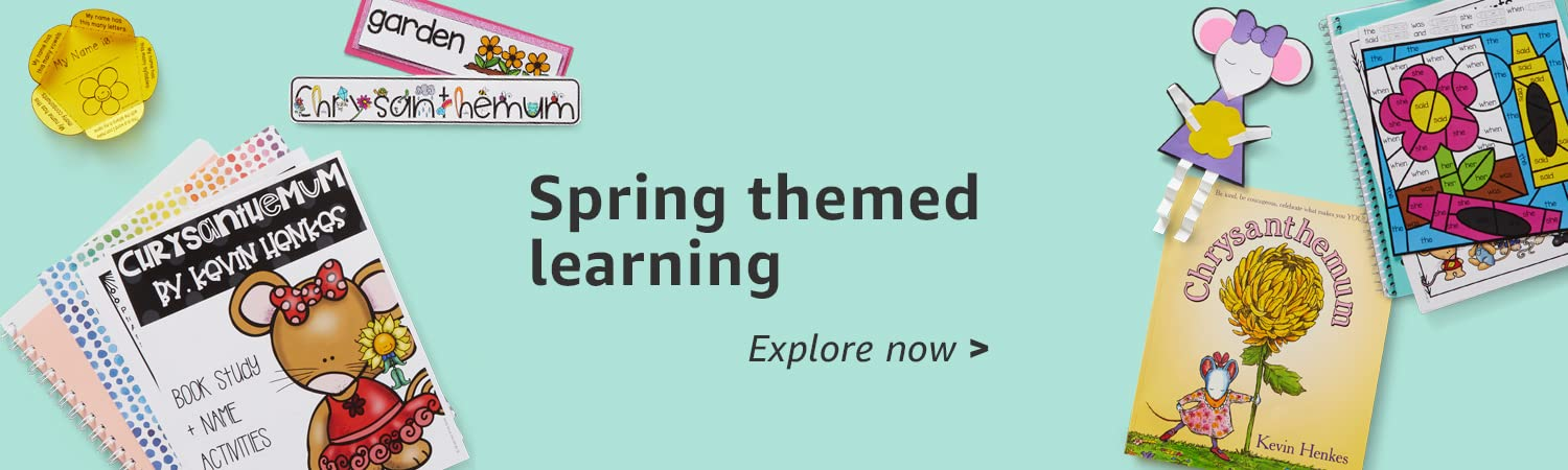 Spring themed learning
