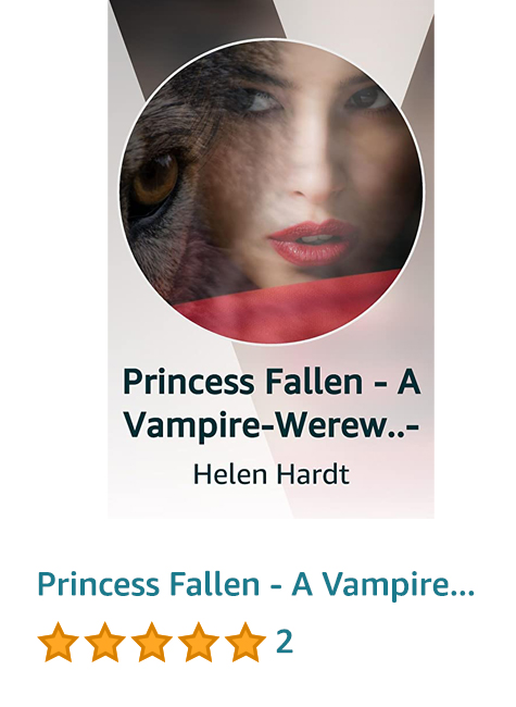 Princess Fallen - A Vampire-Werewolf Urban Fantasy Romance