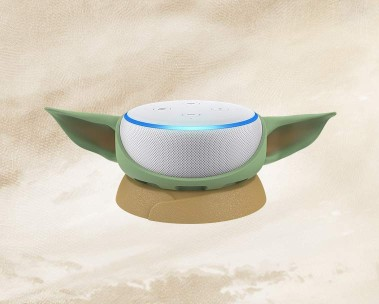 Echo Dot with The Child stand