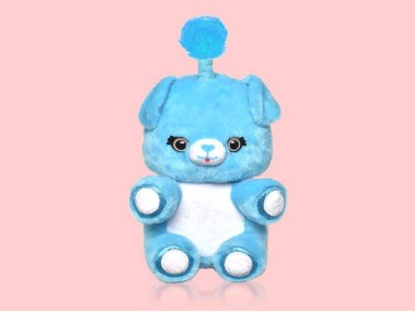 Interactive plush doll compatible with Alexa devices