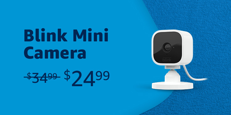 Blink Mini Camera $24.99