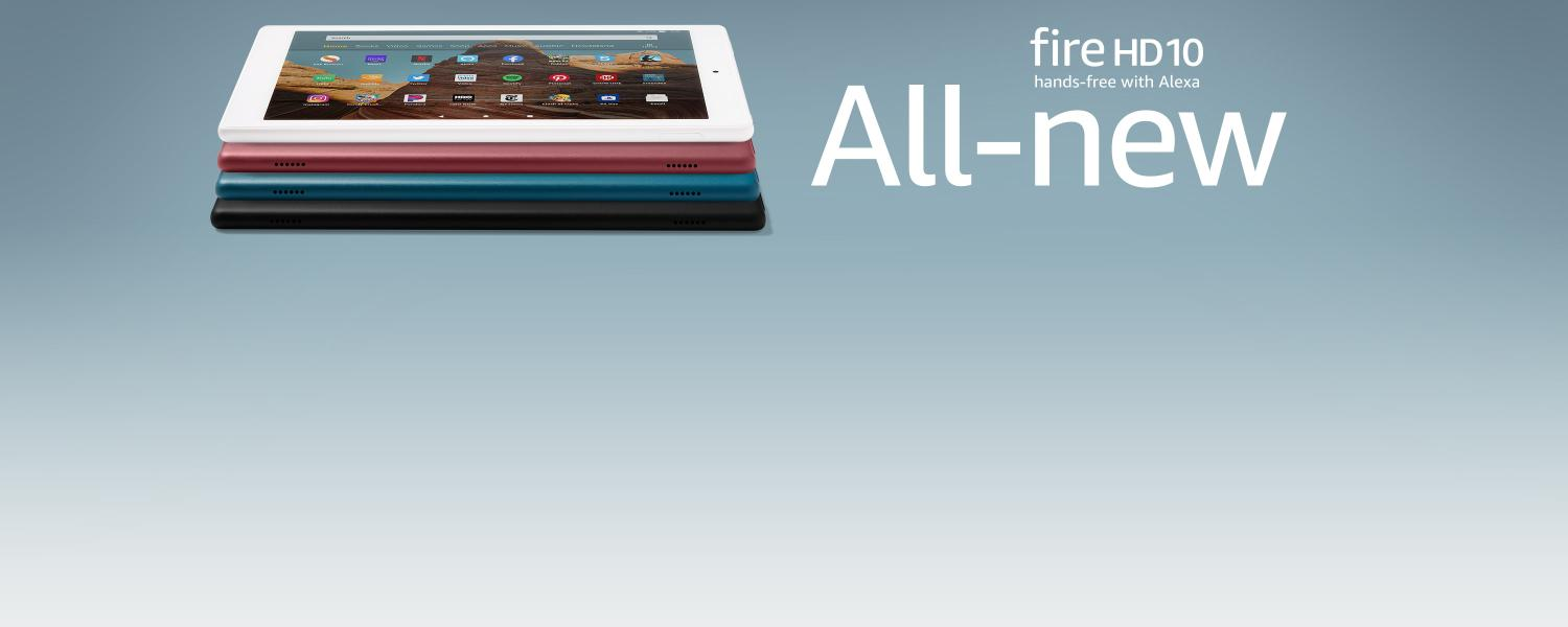 All-new Fire HD 10 hands-free with Alexa