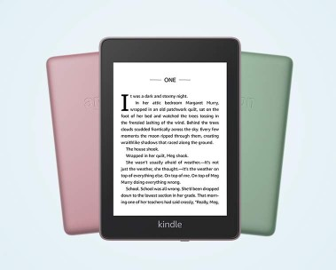 Kindle Paperwhite   Thinner, lighter-and now waterproof